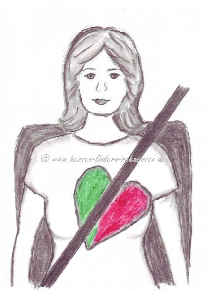 Anwendung von Herzkissen | Herzen lindern Schmerzen